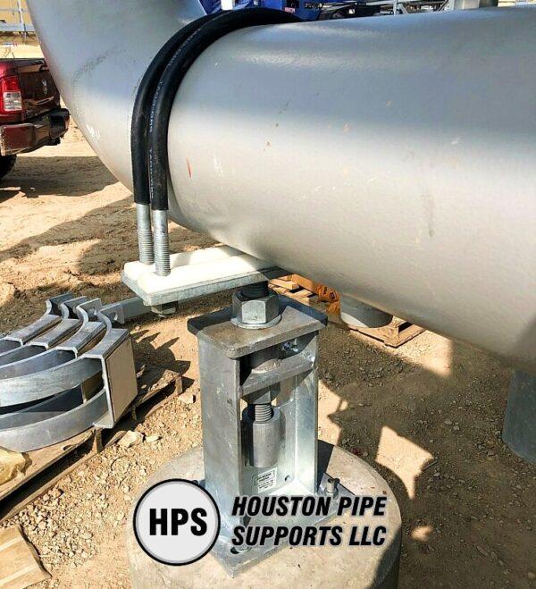 Adjustable Pipe Support Pedestal