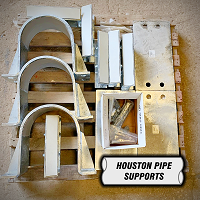 hold down clamps shim blocks and baseplates