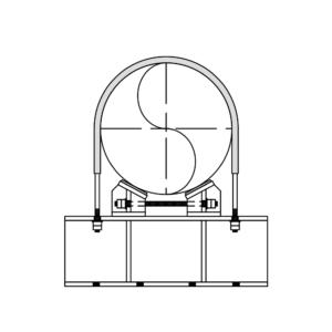 Series 2200 Shim Block Ubolts Beam