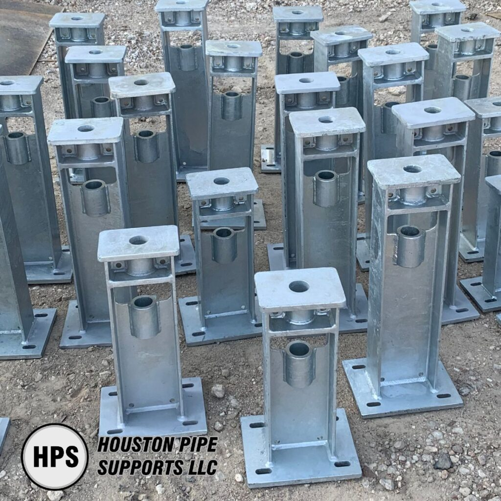 Adjustable Pipe Support Bases