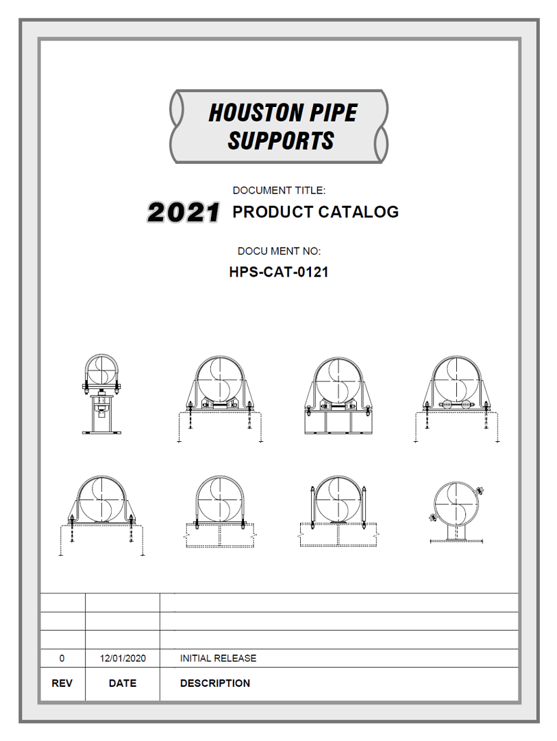 Houston Pipe Supports Catalog Preview