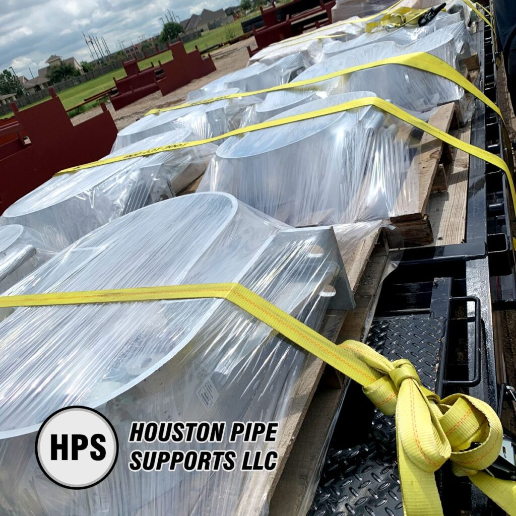 pipe support order shipment