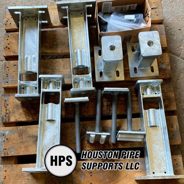 adjustable pipe supports