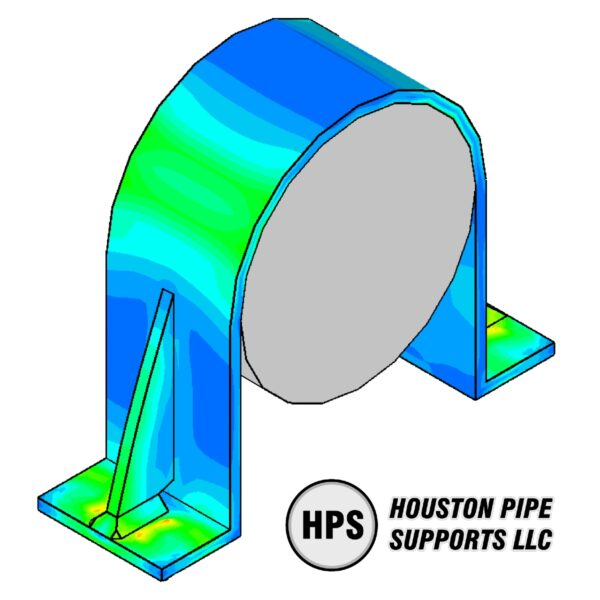 FEA of pipe clamp