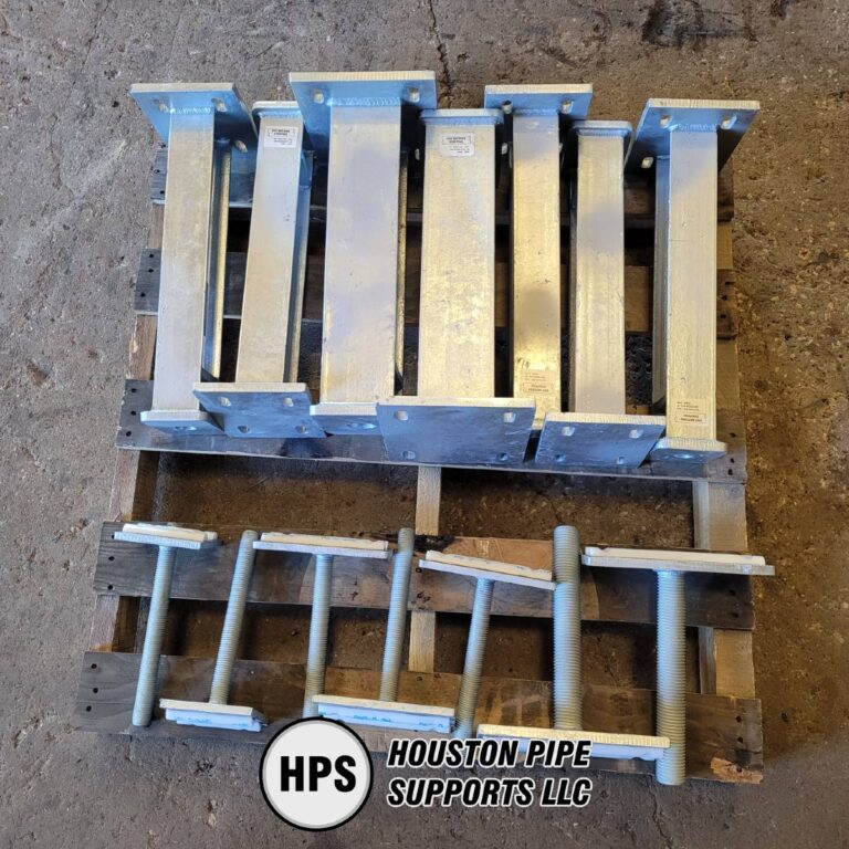 adjustable pipe supports pallet order