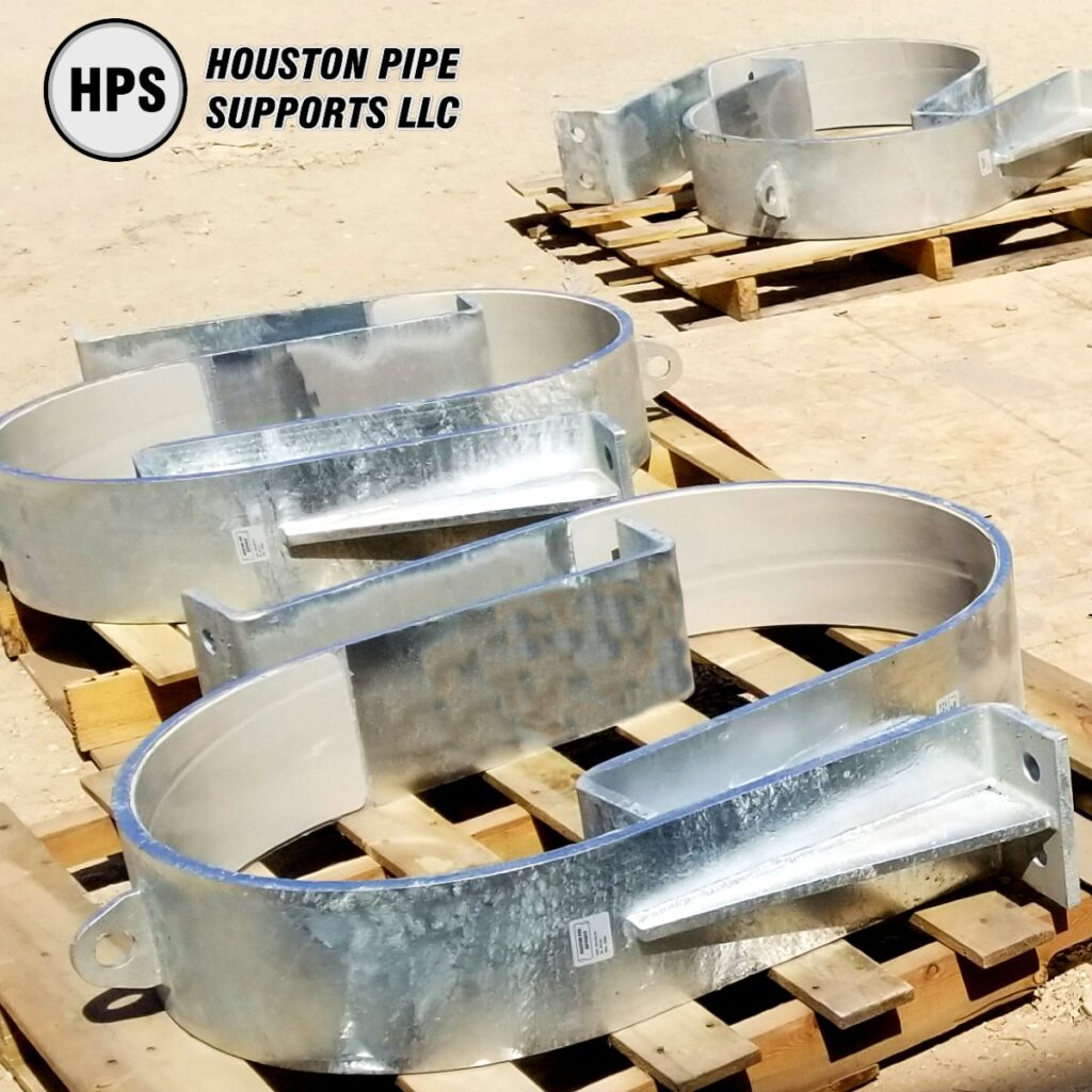 pipe hold down clamps frp liner