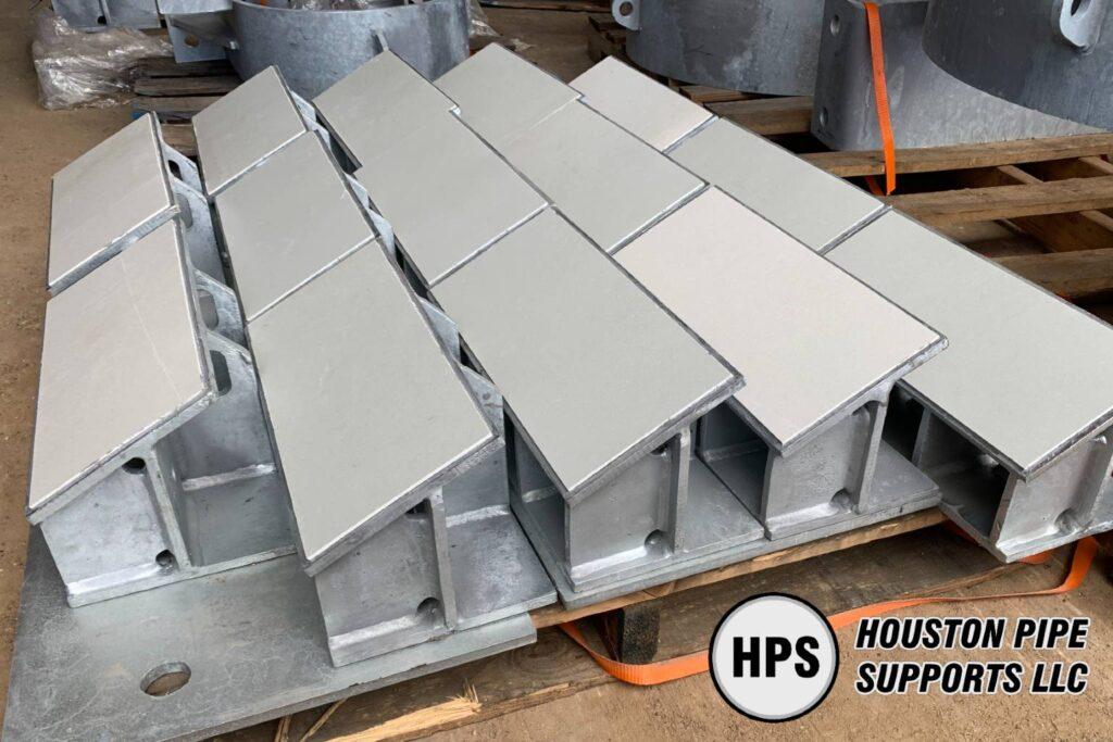 shim block supports baseplate