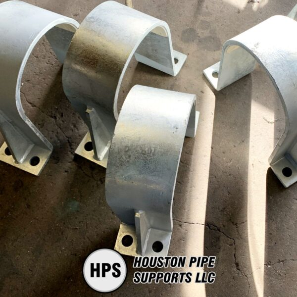 small hold down pipe clamps