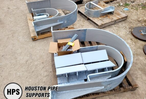 42″ and 20″ Pipe Supports