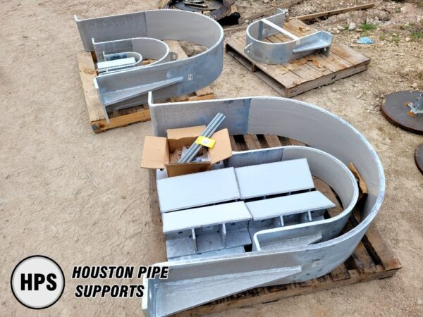 """42"""" and 20"""" Pipe clamps ready to ship"""