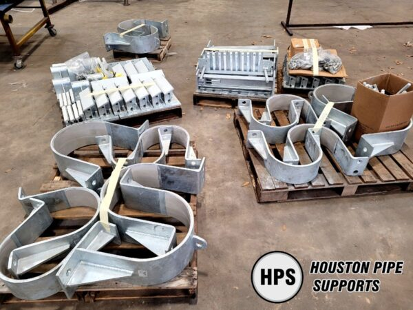pipe supports ready to ship
