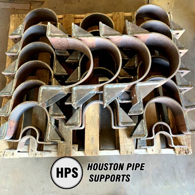 custom order of hold down pipe clamps